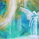 Abstraktes Engelbild von TerraSomniaArt