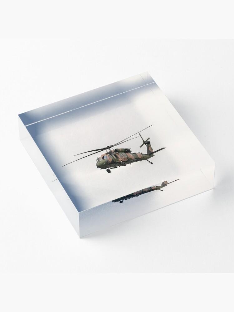 Alternate view of Black Hawk  Acrylic Block
