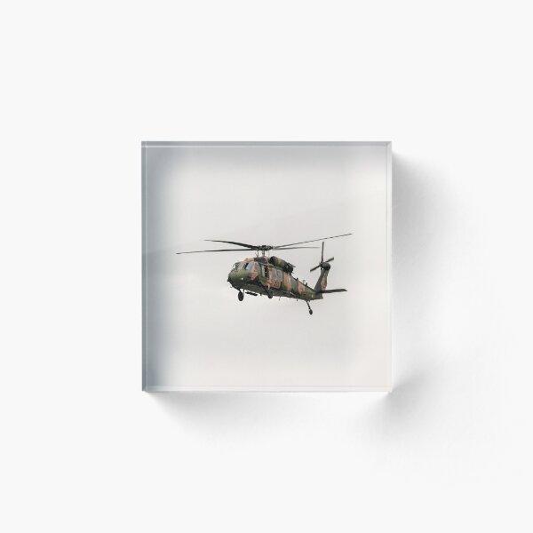Black Hawk  Acrylic Block