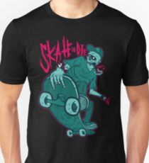Skate and Die blue Unisex T-Shirt