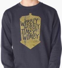 Wibbly Wobbly Timey Wimey Pullover