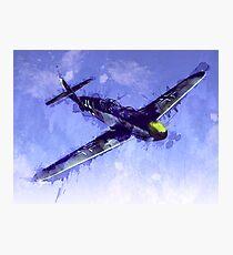 Messerschmitt Bf 109 Photographic Print