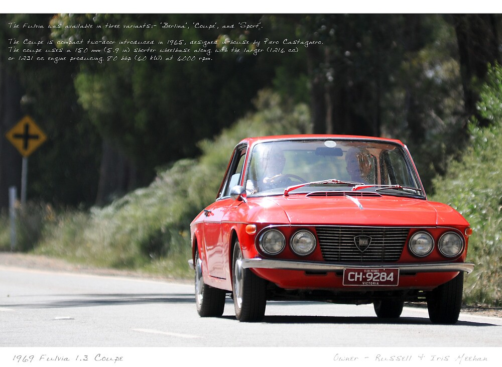 Lancia Fulvia Coupe by Studio-Z Photography