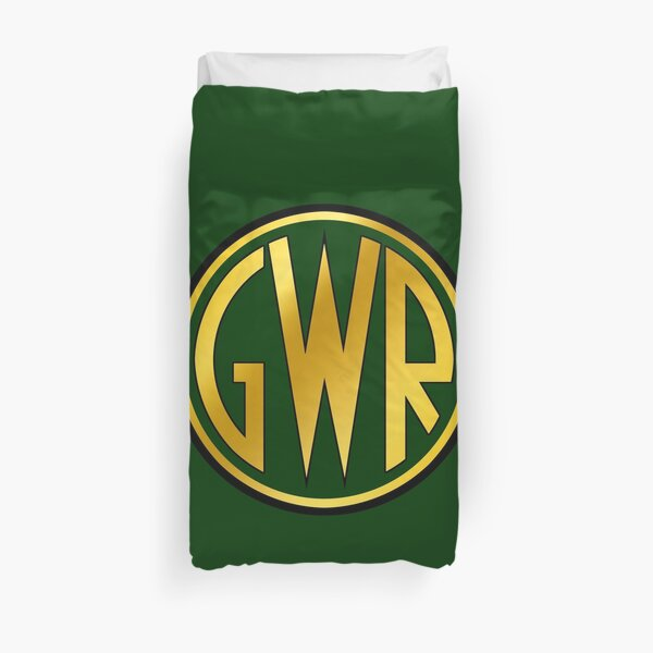 GWR Roundel or Shirt Button (1934- 1942) Duvet Cover
