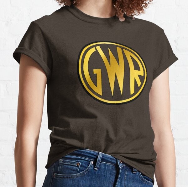 GWR Roundel or Shirt Button (1934- 1942) Classic T-Shirt
