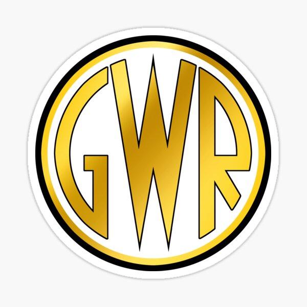 GWR Roundel or Shirt Button (1934- 1942) Sticker