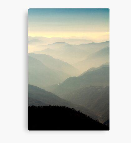 Pockets of light Canvas Print