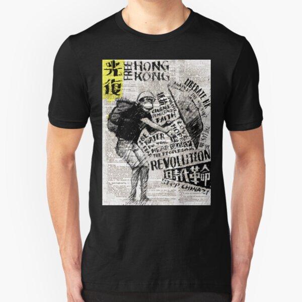 FREE Hong Kong Slim Fit T-Shirt