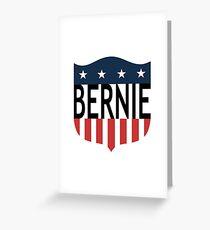 BERNIE stars and stripes Greeting Card
