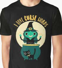 I Love Curse Words Graphic T-Shirt