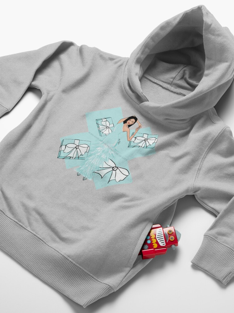 Alternate view of Color of Love Toddler Pullover Hoodie