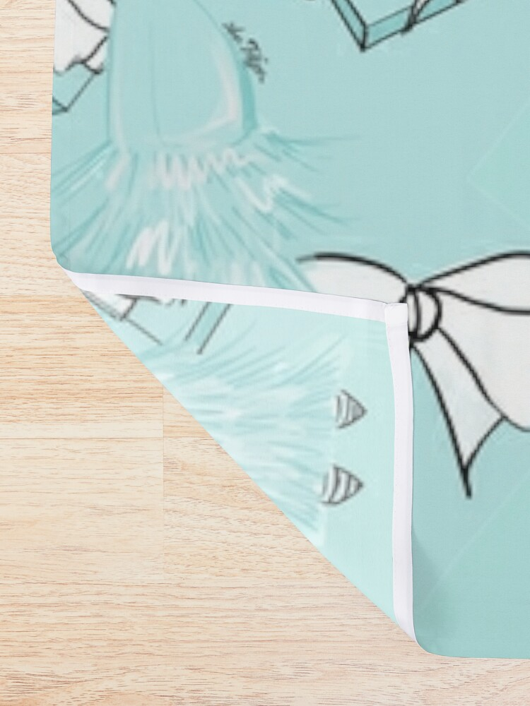 Alternate view of Color of Love Shower Curtain