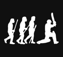 evolution of cricket white silhouette