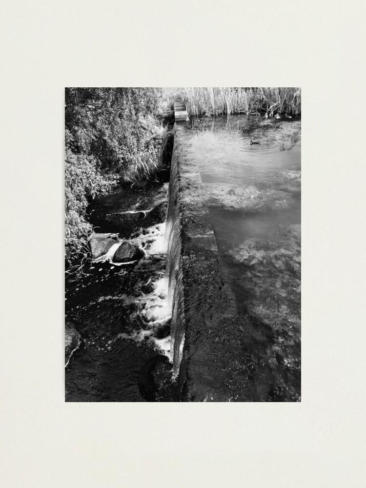 Alternate view of Waterfall Photographic Print