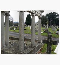 Parkstone Cemetery at Yule Poster