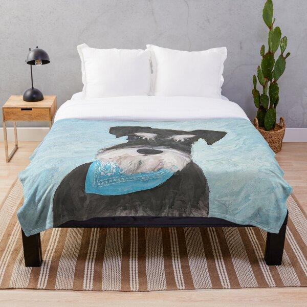 Schnauzer (Miniature) Throw Blanket