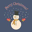 Snowman by Elsbet