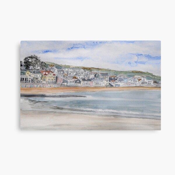 Lyme Regis Seafront, Dorset UK Metal Print