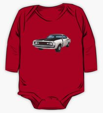 Chrysler Valiant VH Charger - White One Piece - Long Sleeve