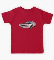 Chrysler Valiant VH Charger - White Kids Tee