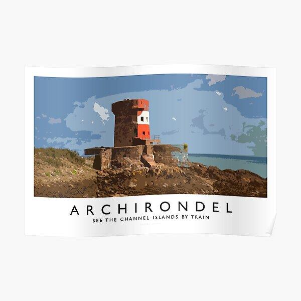 Archirondel (Railway Poster) Poster