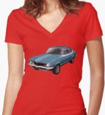 Holden LJ Torana GTR-XU1 Women's Fitted V-Neck T-Shirt