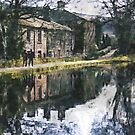 Reflection on a Canal Walk by Welshpixels
