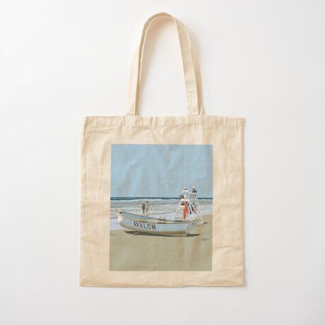 Avalon Beach Patrol Cotton Tote Bag