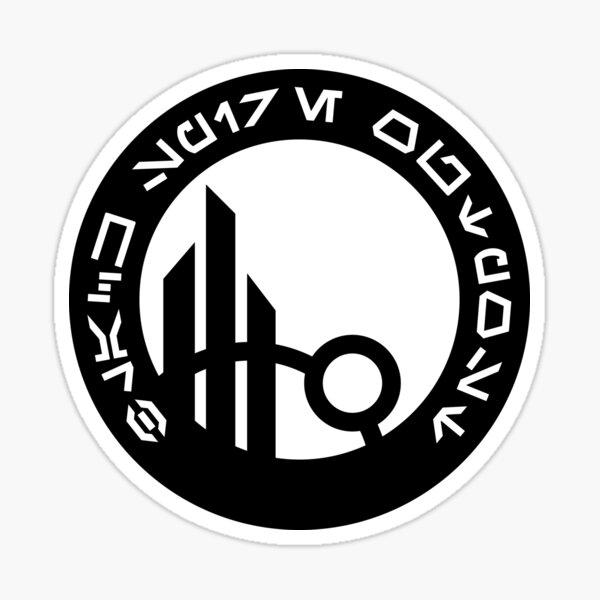 Black Spire Outpost Sticker