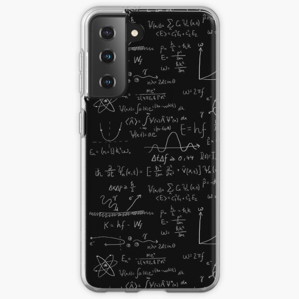 Quantum physics Samsung Galaxy Soft Case