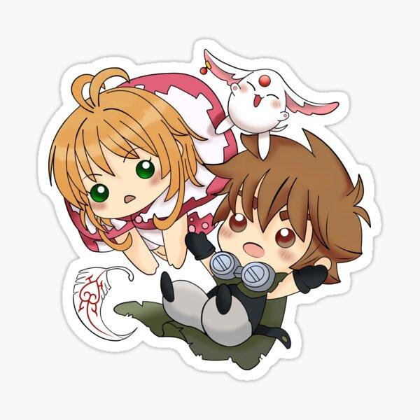 Tsubasa RESERVoir CHRoNiCLE - Sakura + Syaoran Sticker