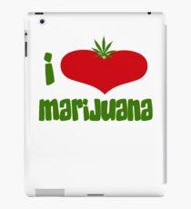 I Love Marijuana iPad Case/Skin