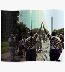 Vietnam Veterans Memorial Wall Poster