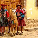 Peruvian cholitas by Constanza Barnier