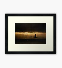 Crow was Crow without fail Framed Print