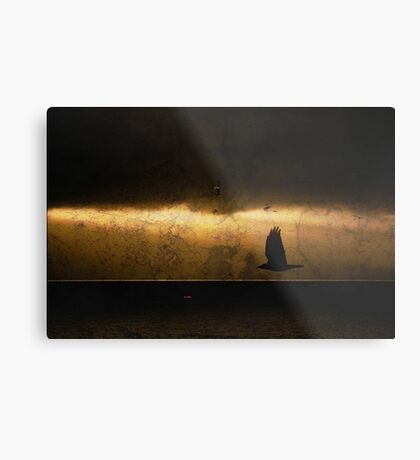 Crow was Crow without fail Metal Print