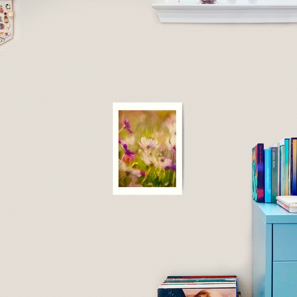 Vintage Flower Meadow Art Print
