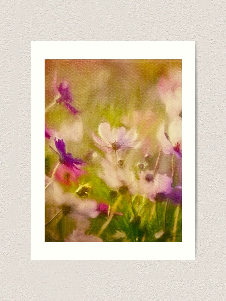 Alternate view of Vintage Flower Meadow Art Print