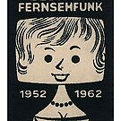 Fernsehfunk...TV nostalgia...German TV 1952 to 1962 by edsimoneit