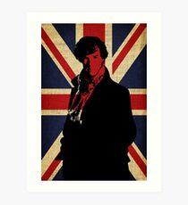 Lámina artística Yo creo en Sherlock Holmes