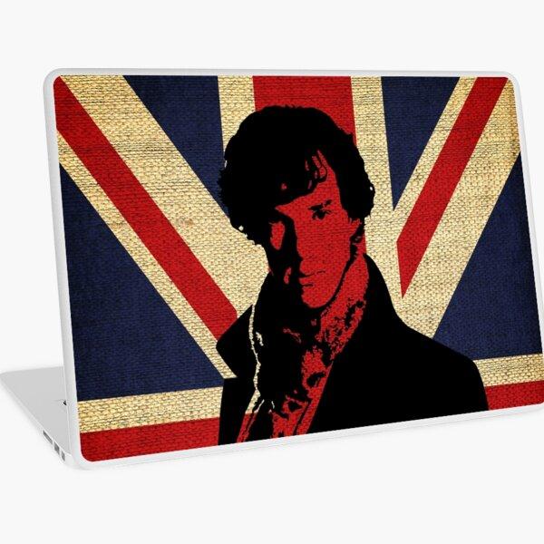 I Believe in Sherlock Holmes Laptop Skin