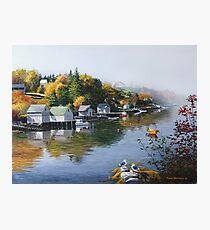 Hackett's Cove Nova Scotia Photographic Print