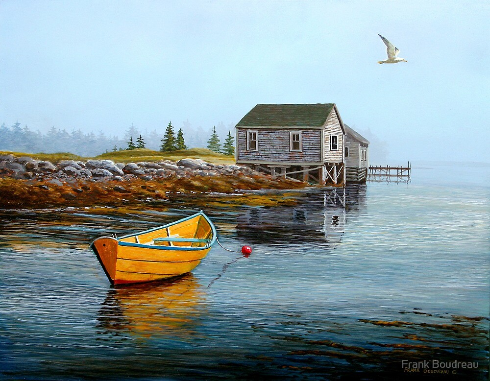 Seclusion by Frank Boudreau