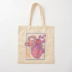 heart. Cotton Tote Bag