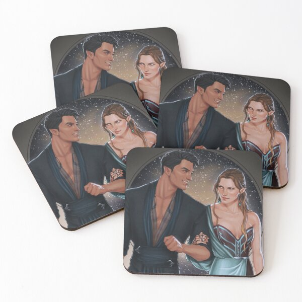 High Lord and Lady Coasters (Set of 4)
