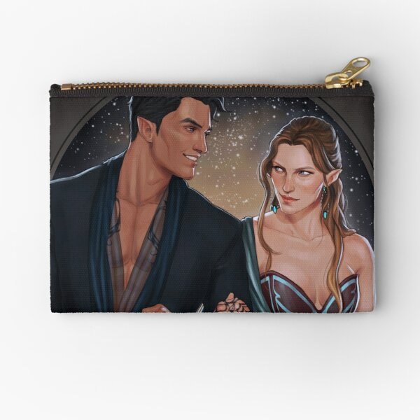 High Lord and Lady Zipper Pouch