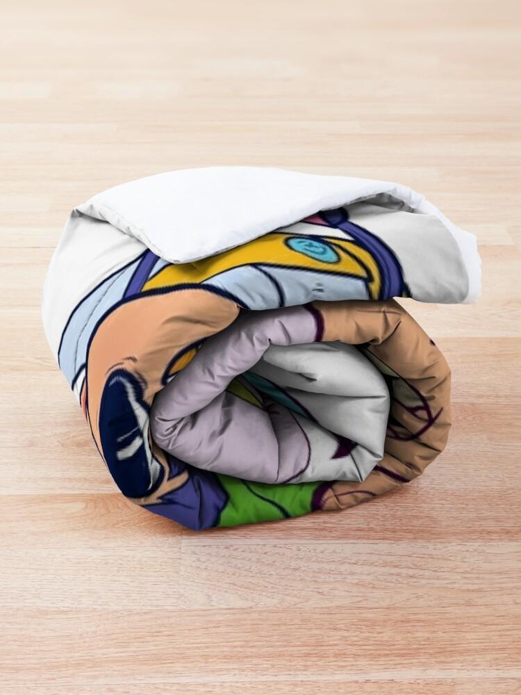 Alternate view of Over the Garden Warp Comforter