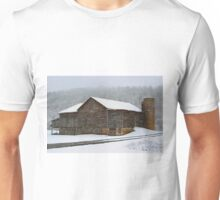 The Old Barn ...Faded, But Sturdy Unisex T-Shirt