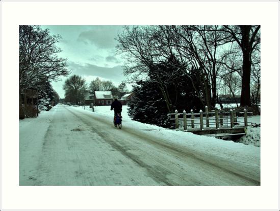 Winter in Holland by Jo Nijenhuis