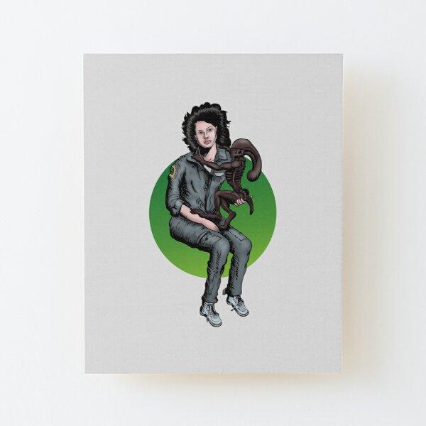 Mother Ripley Wood Mounted Print